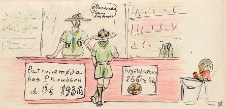 10017U-09 Knudsens butik 1930-05-15