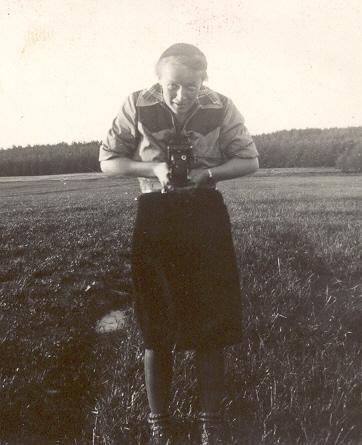 1940 - Co - Spejder, Grete, en af LÆRKERNE