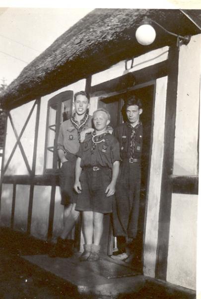 1940 - Db - Spejder, Ulvelejr, Kaj, Vagn, Harry