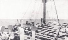 Spejderskibet-MS-Sommersetshire-Fritz-Lerche-holder-gudstjeneste