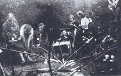 Sct. Georgstroppen lejrbål