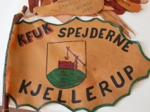 2545.S-1 Tropsstander KFUK Kjellerup